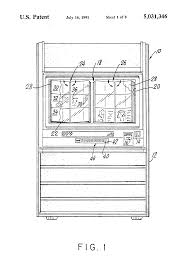 patent us5031346 jukebox selection display and page turning