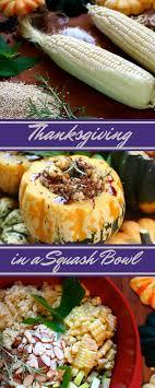 thanksgiving in a squash bowl take on e