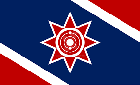 Confederate Flag And Union Flag Sci Fi Union Of Aligned Worlds Flag Revised By Leovinas On