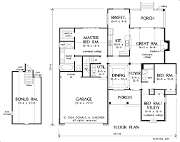 house plans with great room in back