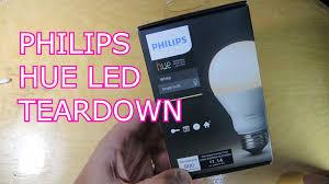 philips hue 2016 led bulb teardown youtube