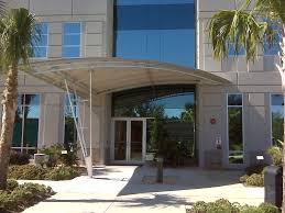 Entrance Awning Custom Commercial Awnings From Thompson Awning