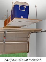 Floating Shelves Menards by Quick Shelf Hangers Overhead Ceiling Mount Storage Unit