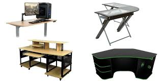 types of gaming desks