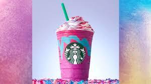 starbucks unicorn frappuccino today com
