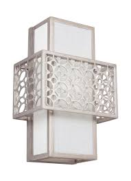 Murray Feiss Wall Sconce Wb1819srs 1 Light Wall Sconce Silver