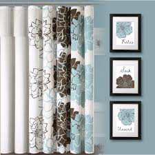 Light Blue And Brown Bathroom Ideas Appealing Bathroom Print Decor Bath At Blue And Brown