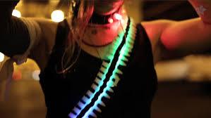 light bandolier for cyber tank costume youtube