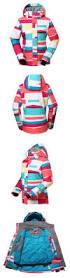 women u0027s colorful waterproof windproof thermal warm ski jackets
