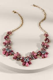 chunky pearl crystal necklace images Fashionable women 39 s necklaces francesca 39 s tif&a