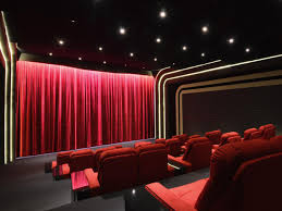 home theater decorating ideas pictures fresh ideas home theatre curtains smartness theater room phase ii