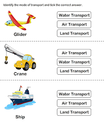 teaching transport free printable transport worksheets for kids