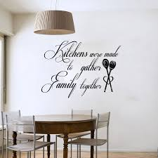 Inexpensive Wall Decor by Decor Family Together Art Words Kitchen Decals For Kitchen
