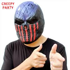 latex masks halloween aliexpress com buy scary skull mask halloween realistic full
