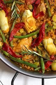 paella valenciana the daring gourmet