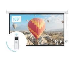 Blumoo Amazon Echo by Amazon Com Homegear 110 U201d Hd Motorized 16 9 Projector Screen W