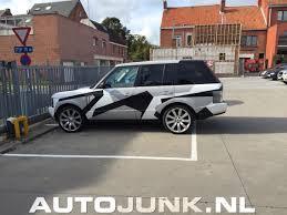 camo range rover range rover camo wrap foto u0027s autojunk nl 126283