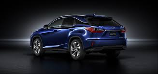 lexus new car new york show 2016 lexus rx suv is revealed at the new york motor