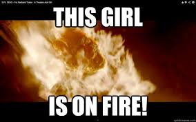 This Girl Is On Fire Meme - this girl is on fire misc quickmeme