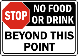 food safety signs food service signs food handling signs