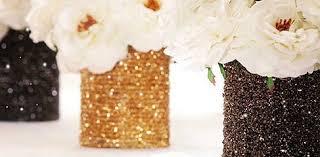 beaded strand covered cans u2013 diy wedding centerpiece floret cadet