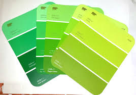 shades of green paint here shades green paint sles grabbed home art decor 49715