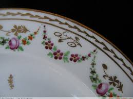 assiette de porcelaine assiette en porcelaine de paris fin xviiie n 24751