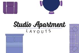 studio apartment layout guide front door