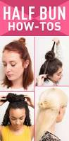 330 best hair images on pinterest hairstyles bun tutorials and