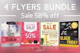 black friday magazine black friday sales flyers bundle ii flyer templates creative