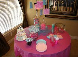 simple baby shower table decorating ideas small home decoration