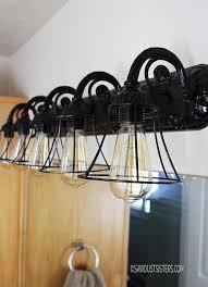 Cheap Bathroom Lighting Fixtures Diy Light Fixtures You Can Make For Cheap Bob Vila