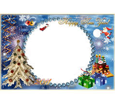 merry frames png photo frame happy new year and