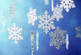 wallpaper new year snowflake decorations desktop