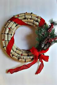 how to make a cork wreath for tutorial and decoration tips