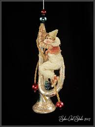 Antique Victorian Christmas Ornaments - 112 best victorian ornaments by silver owl studio images on