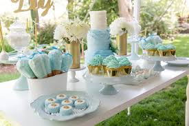 blue and gold decoration ideas blue and gold baby shower decorations hnc