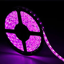 16 4ft 5m pink waterproof led lights 5050 smd