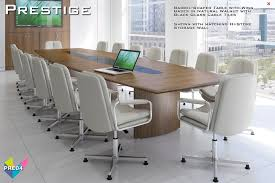 Black Glass Boardroom Table Prestige Tables Boardroom Furniture