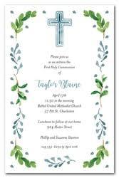 communion invitations for boys holy communion invitations for boys