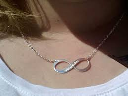 engraved necklace silver infinity engraved necklace with name online kaya jewellery uk
