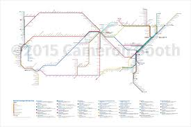 Washington Metro Map Pdf by Draft 2015 Amtrak As Subway Map U2013 Large Cameron Booth