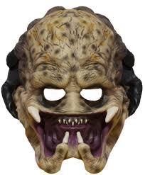 amazon com aliens vs predator child u0027s predator 3 4 vinyl mask