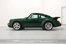 porsche 964 1994 porsche 964 3 6 turbo paint to sample irish green sloan cars