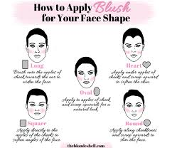 make up tips for a natural looking face heart shaped
