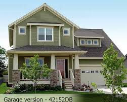 Narrow Lot Craftsman House Plans House Narrow Lot Craftsman House Plans
