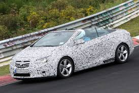 opel cascada opel cascada four seater convertible confirmed photos 1 of 3