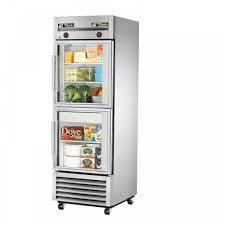 glass door fridge and freezer fordesign