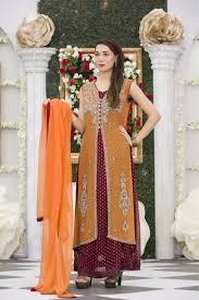 exclusive orange maroon mehndi dress exclusive online boutique