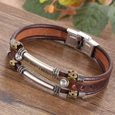 leather bracelet jewelry images Inspirational bracelets for men or women leather bracelet surewaydm jpg